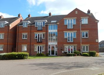 Thumbnail 2 bed flat for sale in Churchfield Close, Deeping St. James, Peterborough
