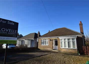 Thumbnail 3 bed bungalow for sale in Croft Bank, Skegness, Lincolnshire