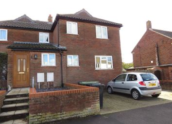 Thumbnail 3 bed semi-detached house for sale in Melton Drive, Hunstanton