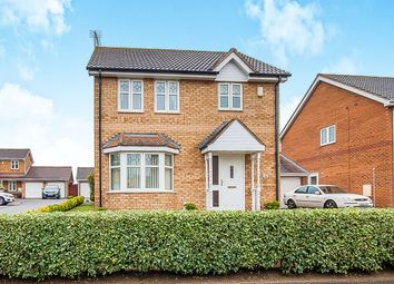 Thumbnail 3 bed detached house for sale in Bentley Avenue, Yaxley, Peterborough