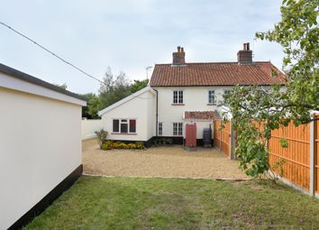 Thumbnail 3 bed semi-detached house for sale in Banham Road, Kenninghall, Norwich