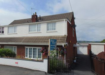 Thumbnail 3 bed semi-detached house for sale in Brynmead, Bryn, Llanelli, Carmarthenshire.