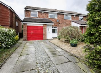 Thumbnail 3 bed semi-detached house for sale in Lakenheath Drive, Bolton