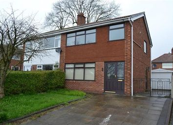 Thumbnail 3 bed semi-detached house for sale in The Poplars, Leigh
