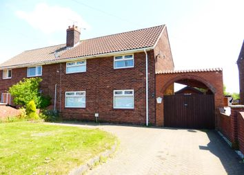 Thumbnail 3 bed semi-detached house for sale in Chesswick Crescent, Keadby, Scunthorpe