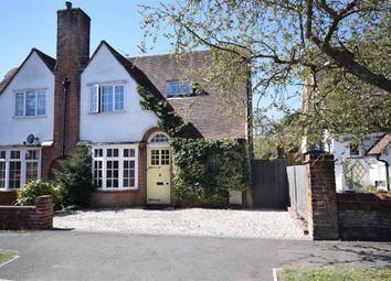Thumbnail Semi-detached house for sale in Osborn Road, Farnham, Surrey