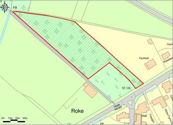 Thumbnail Land for sale in Roke, Wallingford