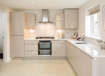 "Thumbnail 4 bedroom end terrace house for sale in ""Parkin"" at William Morris Way, Tadpole Garden Village, Swindon"
