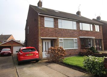 Thumbnail 3 bed semi-detached house for sale in St. Christophers Crescent, Scawsby, Doncaster