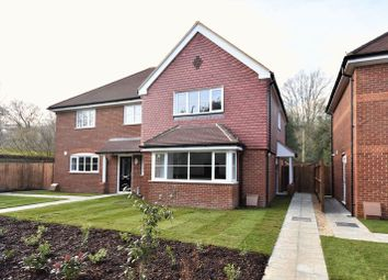 Thumbnail 3 bedroom semi-detached house for sale in Back Lane, Bucks Horn Oak, Farnham