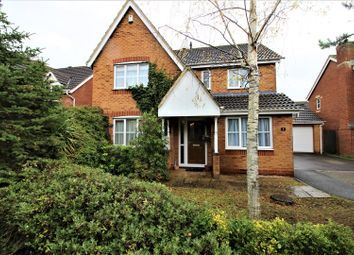 Thumbnail 4 bed detached house for sale in Wayne Close, Abbey Meads, Swindon