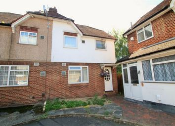 Thumbnail 3 bed semi-detached house for sale in Lynch Close, Cowley, Uxbridge
