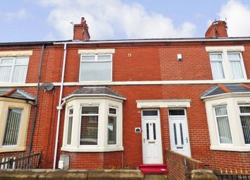 Thumbnail 2 bed terraced house to rent in Woodhorn Road, Ashington
