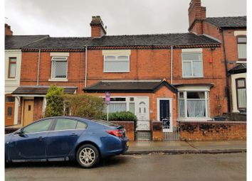 Thumbnail 3 bedroom terraced house for sale in Frederick Avenue, Stoke-On-Trent
