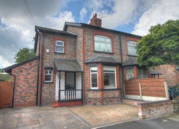 Thumbnail 3 bed semi-detached house for sale in Harcourt Road, Altrincham