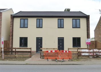 Thumbnail 3 bedroom semi-detached house for sale in Elm High Road, Elm, Wisbech