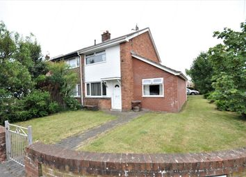 Thumbnail 2 bed semi-detached house for sale in Halton Avenue, Cleveleys, Thornton Cleveleys, Lancashire