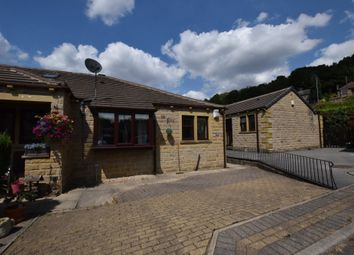 Thumbnail 2 bed terraced bungalow to rent in River Holme View, Brockholes, Holmfirth