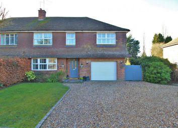 Thumbnail 4 bed property for sale in Church Crookham, Fleet