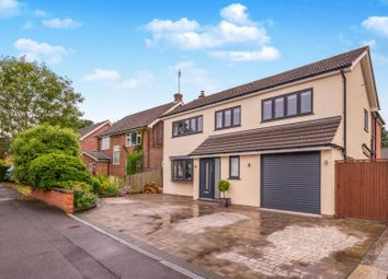 Thumbnail 4 bedroom detached house for sale in Lea Croft, Crowthorne