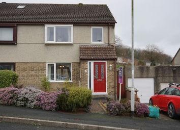 Thumbnail 3 bed semi-detached house for sale in Dunster Close, Plymouth