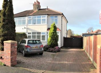 Thumbnail 3 bed semi-detached house to rent in Thorntrees Avenue, Lea, Preston