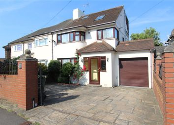 Thumbnail 4 bed semi-detached house to rent in Fernside Avenue, London