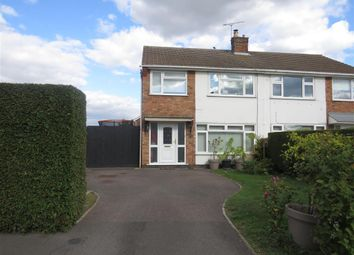 Thumbnail 3 bed semi-detached house for sale in Windsor Road, Yaxley, Peterborough