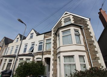 Thumbnail 4 bed flat to rent in Gordon Road, Roath, Cardiff