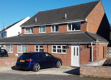 Thumbnail 3 bed semi-detached house for sale in St. Peters Close, Moreton-On-Lugg, Hereford