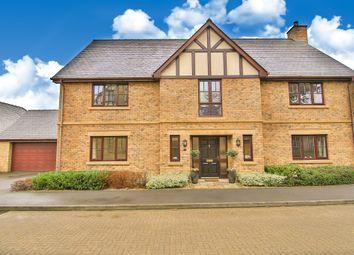 Thumbnail 4 bed detached house for sale in Castleton Gardens, Castleton, Cardiff