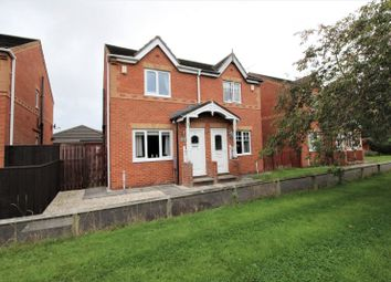 Thumbnail 2 bed semi-detached house for sale in Medway Place, Cramlington, Northumberland