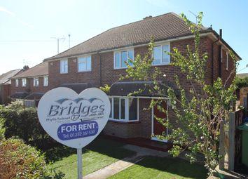 Thumbnail 3 bed semi-detached house to rent in Kingsway, Aldershot