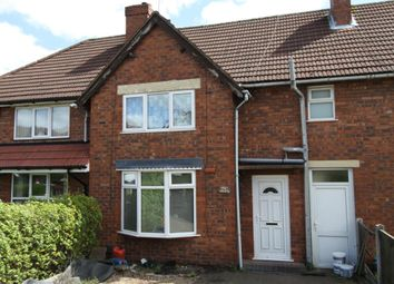 Thumbnail 3 bedroom terraced house to rent in Field Road, Bloxwich, Walsall