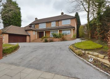 Thumbnail 5 bedroom detached house for sale in Ringley Road, Whitefield, Manchester