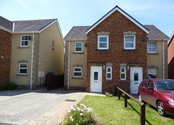 Thumbnail 3 bed semi-detached house to rent in Maes Abaty, Whitland