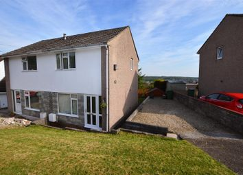 Thumbnail 2 bedroom semi-detached house for sale in St. Lukes Close, Llanharan, Pontyclun