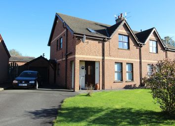 Thumbnail 3 bed semi-detached house for sale in Meadow Hill Close, Carrickfergus