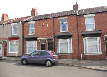 Thumbnail 2 bed terraced house to rent in Bell Street, Middlesbrough