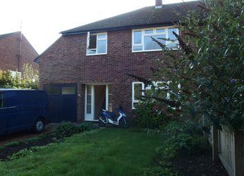 Thumbnail 3 bed semi-detached house to rent in Church Lane, Trumpington, Cambridge