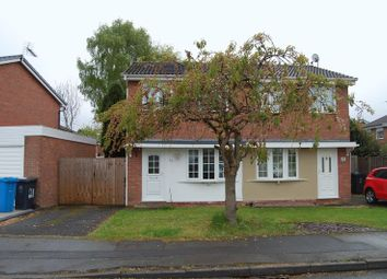 Thumbnail 2 bed semi-detached house to rent in Ennerdale Drive, Perton, Wolverhampton