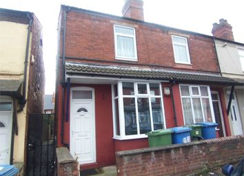 Thumbnail 3 bed end terrace house to rent in Victoria Street, Mansfield, Nottinghamshire