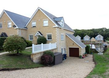 Thumbnail 4 bed town house for sale in Waters Edge, Wansford, Peterborough