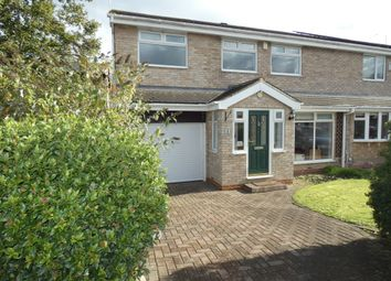 Thumbnail 4 bed semi-detached house for sale in Chatham Close, Seaton Delaval, Tyne & Wear