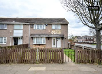 Thumbnail 3 bed end terrace house for sale in Cheshire Walk, Grimsby