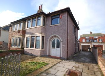 Thumbnail 3 bed semi-detached house for sale in Carlyle Avenue, Blackpool