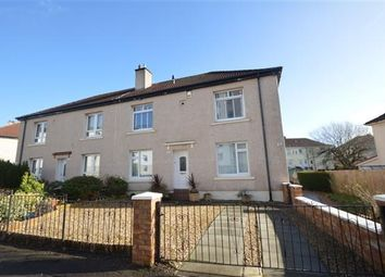 Thumbnail 2 bed flat for sale in Gorget Avenue, Knightswood, Glasgow