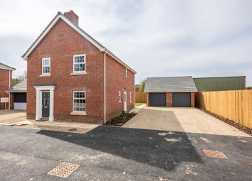 Thumbnail 4 bedroom detached house for sale in Burgh Common, Attleborough