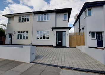 Thumbnail 3 bed semi-detached house for sale in Walsingham Road, Enfield