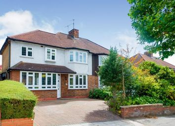Thumbnail 4 bed semi-detached house for sale in Cat Hill, East Barnet, Barnet, .